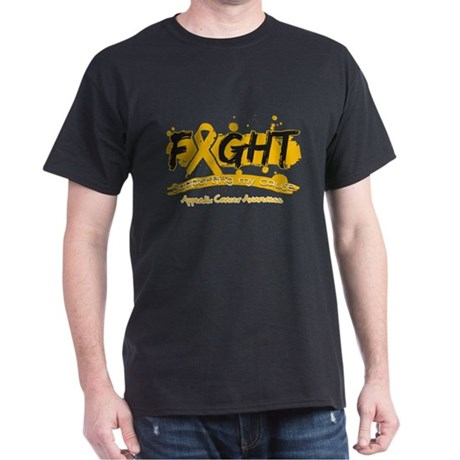 Fight Appendix Cancer Cause Dark T-Shirt