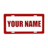 Names License Plates