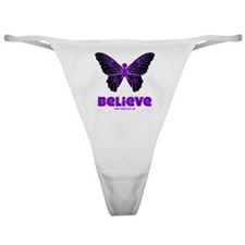 iBelieve - Purple Classic Thong