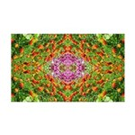 Flower Garden Carpet 4 38.5 x 24.5 Wall Peel