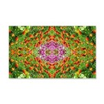 Flower Garden Carpet 4 22x14 Wall Peel