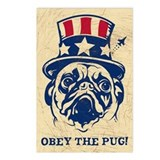 PUG USA Vintage Postcards (Pack of 8)