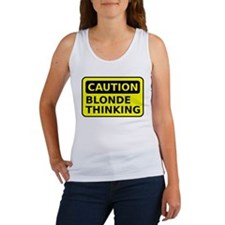Blonde Thinking Women's Tank Top