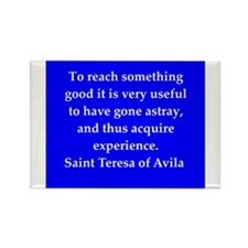 Saint Teresa of Avila Rectangle Magnet (100 pack)