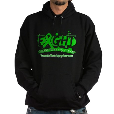 Fight Traumatic Brain Injury Hoodie (dark)