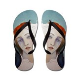 BIRTH OF VENUS Flip Flops