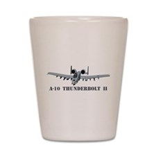 A-10 Thunderbolt II Shot Glass