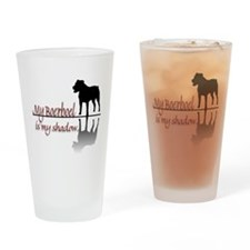 My Boerboel is My Shadow Drinking Glass