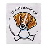 Beagle IAAM Throw Blanket