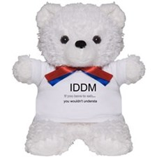 Cute Diabetes mellitus Teddy Bear