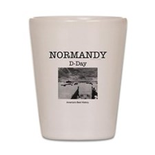 Normandy Americasbesthistory.com Shot Glass