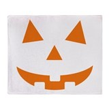 Jack O Lantern Throw Blanket