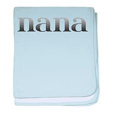 Nana Carved Metal baby blanket