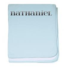 Nathaniel Carved Metal baby blanket