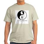 Yin Yang Bride and Groom Ash Grey T-Shirt
