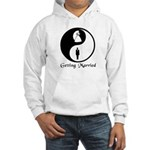 Yin Yang Bride and Groom Hooded Sweatshirt