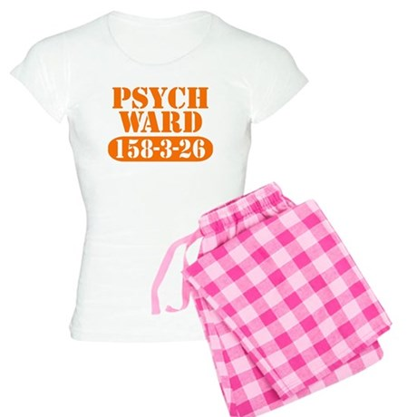 Psych Ward - Orange Women's Light Pajamas