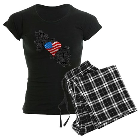 4th Of July / Independence Da Women's Dark Pajamas