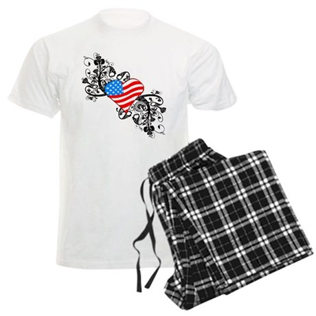 4th Of July / Independence Da Men's Light Pajamas