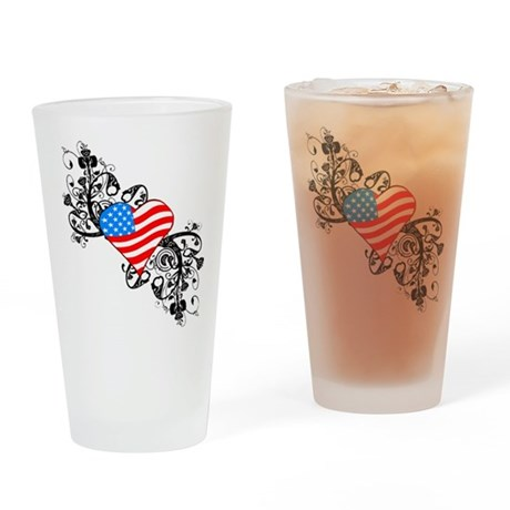 4th Of July / Independence Da Drinking Glass