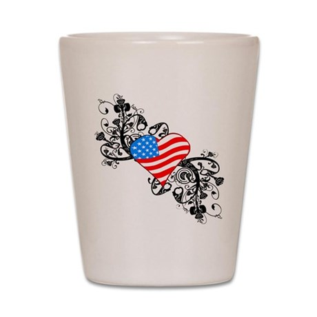 4th Of July / Independence Da Shot Glass