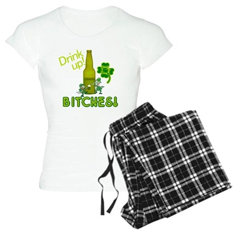 Drink Up Bitches! Women's Light Pajamas