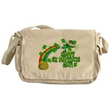 Cute Four leaf clover Messenger Bag
