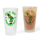 Cool St patricks day Drinking Glass