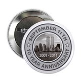 September 11 Anniversary 2.25&quot; Button (10 pack)