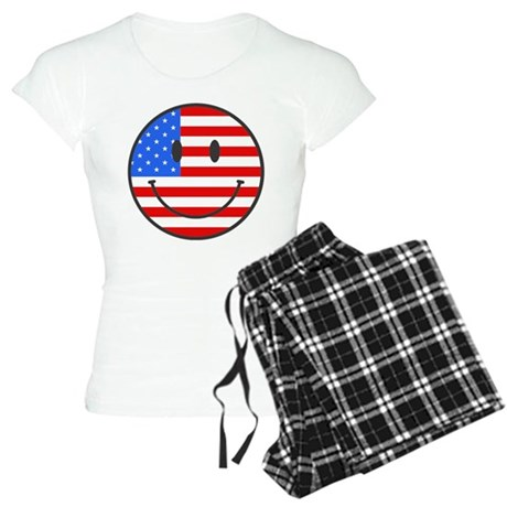 4th Of July Happy Smile Women's Light Pajamas