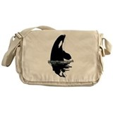 Orca Killer Whale Messenger Bag