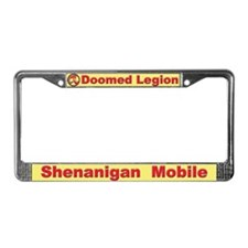 DL License Plate Frame