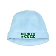Kiss Me I'm Cute baby hat