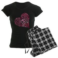 SKULL HEART VINTAGE Pajamas