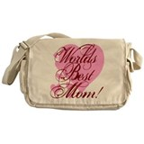 Mother's Day Worlds Best Mom Messenger Bag