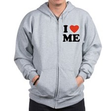 Unique I love Zip Hoodie