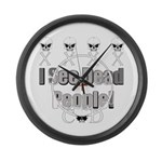 Cod gamer 4 Large Wall Clock
