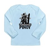 Mandirigmang Pinoy Long Sleeve Infant T-Shirt