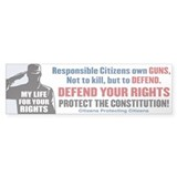 Defend Your Rights Bumper Sticker (10 pk)
