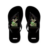 Irish Leprechaun Flip Flops