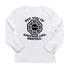 Classic LOST Quote Long Sleeve Infant T-Shirt