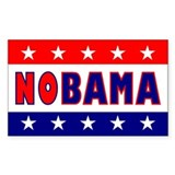 Nobama Rectangle Decal
