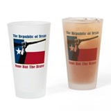 Republic of Texas Drinking Glass