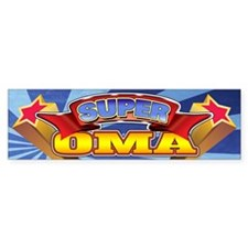 Super Oma Bumper Sticker