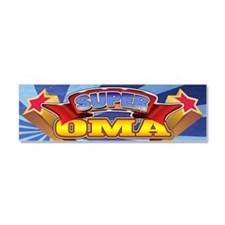 Super Oma Car Magnet 10 x 3