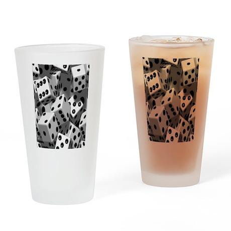 CRAPS Drinking Glass