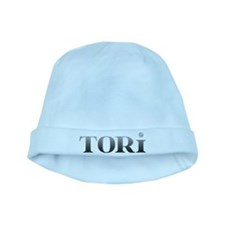 Tori Carved Metal baby hat