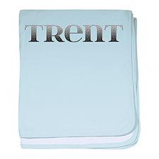 Trent Carved Metal baby blanket