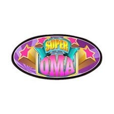 Pink Super Oma Patches