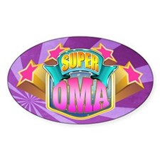 Pink Super Oma Decal